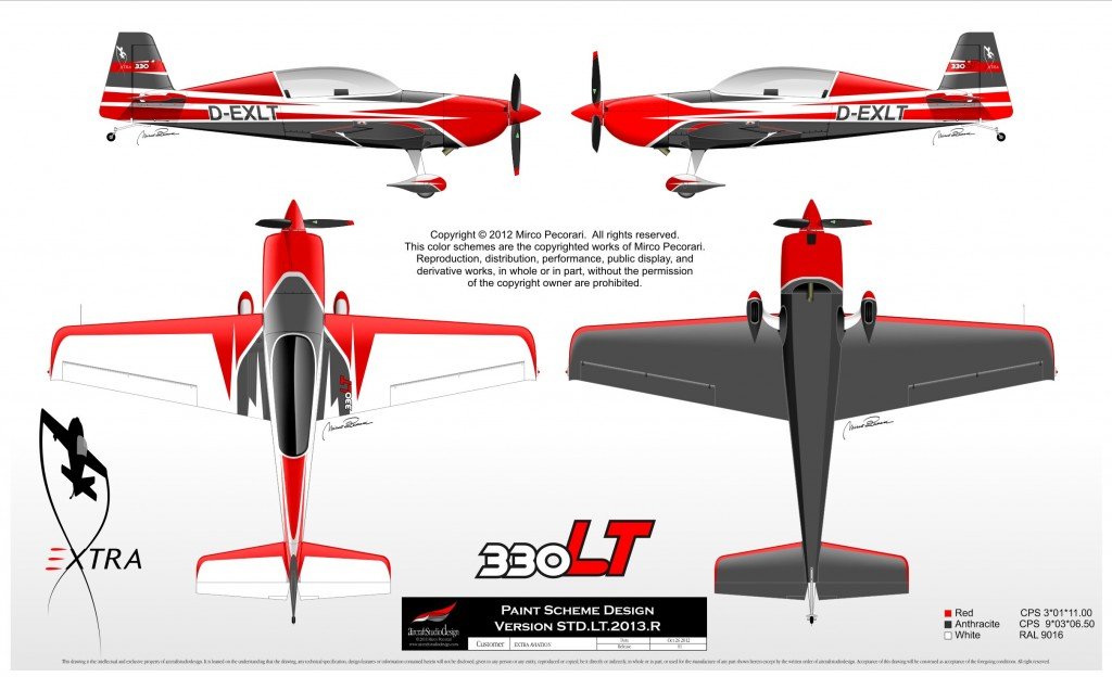 Paint scheme STD-LT-2014-A